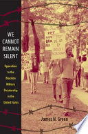 We Cannot Remain Silent