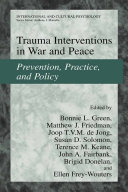 Trauma Interventions in War and Peace