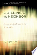 Listening To The Neighbor Book PDF