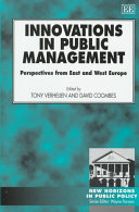 Innovations In Public Management