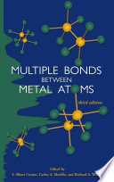 Multiple Bonds between Metal Atoms Book