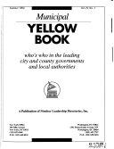 Municipal Yellow Book Book
