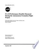F A 18 Performance Benefits Measured During the Autonomous Formation Flight Project