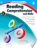 Reading Comprehension and Skills, Grade 4