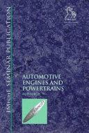 Automotive Engines and Powertrains  Autotech  97