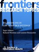 Telemedicine in Low Resource Settings