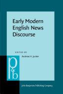 Pdf Early Modern English News Discourse Telecharger
