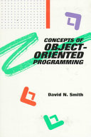 Concepts of Object-oriented Programming