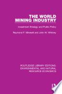 The World Mining Industry