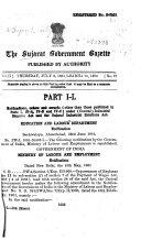 The Gujarat Government Gazette