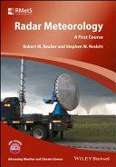 Radar Meteorology Pdf/ePub eBook