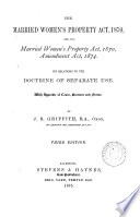 The Married Women s Property Act  1870