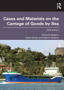 Cases and Materials on the Carriage of Goods by Sea Pdf/ePub eBook