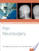 Pain Neurosurgery Book