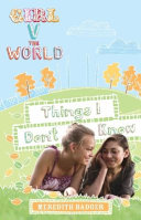 Pdf Girl V the World: Things I Don't Know Telecharger