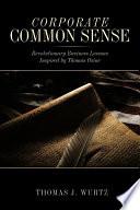 Corporate Common Sense