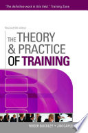 """""""The Theory & Practice of Training"""" by Roger Buckley, Jim Caple"""