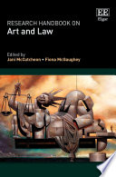 Research Handbook on Art and Law Book