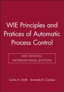 Wie Principles and Pratices of Automatic Process C Ontrol, 3e, International Edition