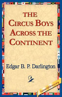 Pdf The Circus Boys Across the Continent