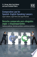 Comparative Law for Spanish   English Speaking Lawyers Book
