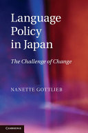 Language Policy in Japan: The Challenge of Change - Seite 57
