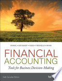 Financial Accounting Tools for Business Decision Making, Kimmel-Weygandt-Kieso-Trenholm-Irvine, 6th Canada Ed, 2014