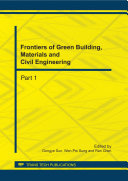 Frontiers of Green Building, Materials and Civil Engineering Pdf/ePub eBook