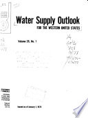 Water Supply Outlook for the Western United States