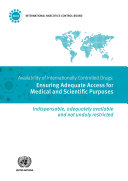 Availability of Internationally Controlled Drugs
