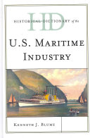 Historical Dictionary of the U.S. Maritime Industry