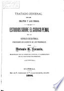 Tratado jeneral de los delitos y las penas