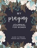 Praying Journal for Women
