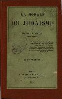 La morale du judaísme