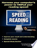 Speed Reading - Harness Your Computer's Power to Triple Your Reading Speed! Pdf/ePub eBook