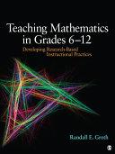 Teaching Mathematics in Grades 6   12