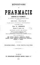 Répertoire de pharmacie ebook