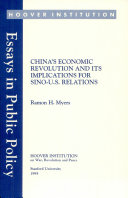 China s economic revolution and its implications for Sino U S  relations