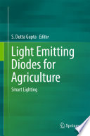 Light Emitting Diodes For Agriculture Book PDF
