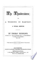 The Thunderstorm; Or, A Wedding in Harvest: a Rural Sketch Pdf/ePub eBook