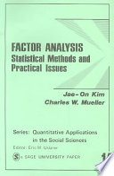 Factor Analysis Online Book
