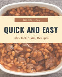 365 Delicious Quick And Easy Recipes