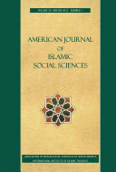 Pdf American Journal of Islamic Social Sciences 29:1 Telecharger