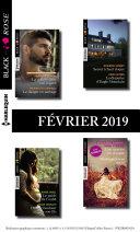 11 romans Black Rose (n° 519 à 522 - Février 2019)