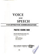Voice and Speech for Effective Communication