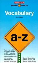 A Pocket Guide to Vocabulary