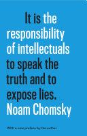 The Responsibility of Intellectuals Pdf/ePub eBook
