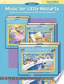 Music for Little Mozarts Teacher's Handbook, Bk 3 & 4