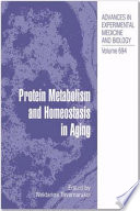 Protein Metabolism and Homeostasis in Aging Book