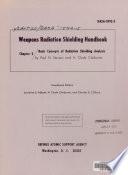 Weapons Radiation Shielding Handbook Book